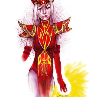 high inquisitor whitemane by sa55y on deviantart