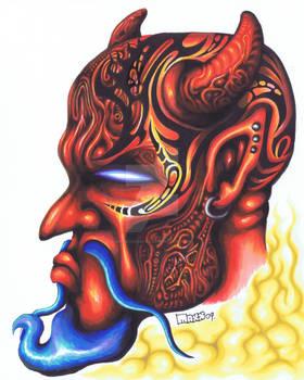 Tattooed Devil