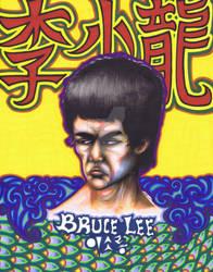 Bruce, Marker, 11x14, 2010