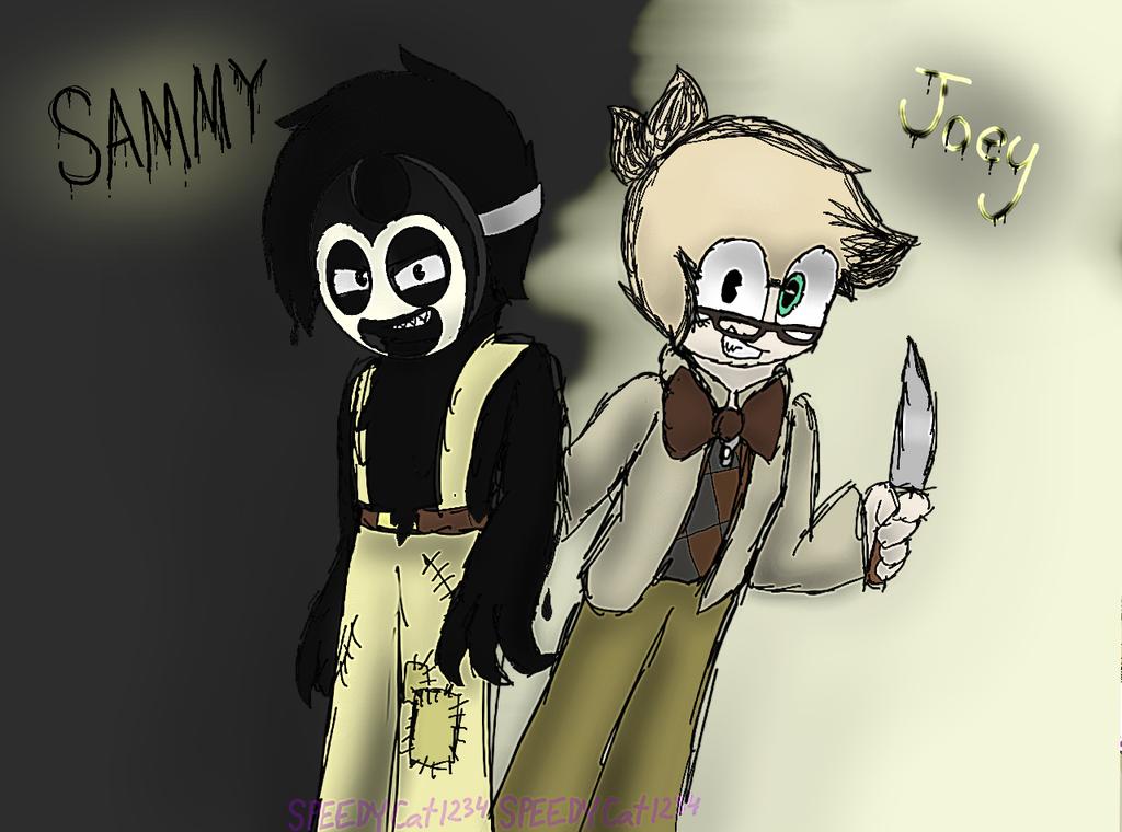 Joey and Sammy [BATIM] by SpeedyCat1234