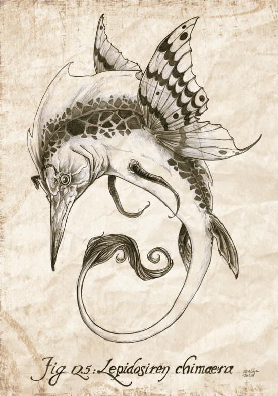 Lepidosiren chimaera by Nyrn-Aeh