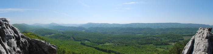View from Dragon's Tooth