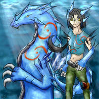 Fursona and Anthro by Slifer