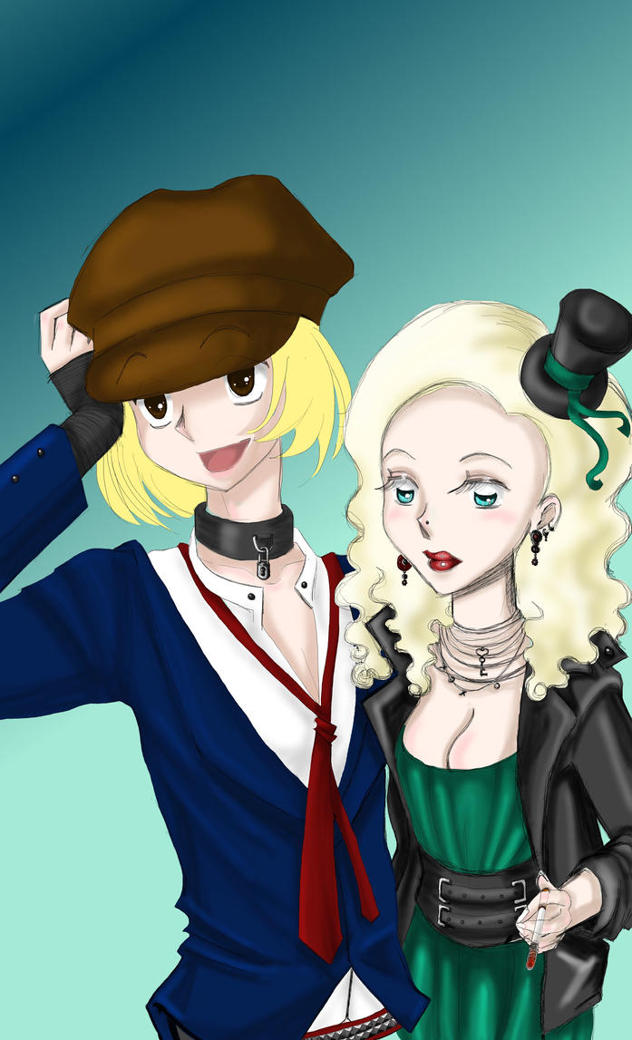 pip and estella with color by kisses4katie on deviantart