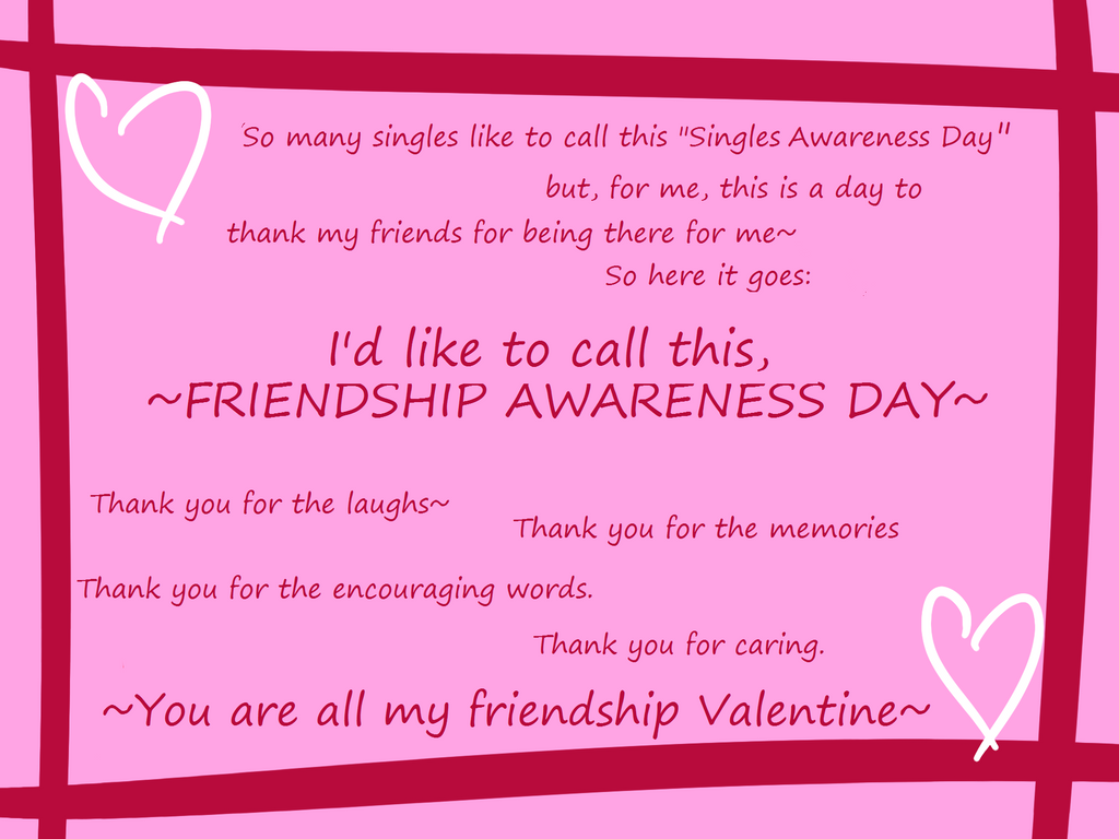 valentine day friendship awareness day by teamshikaino