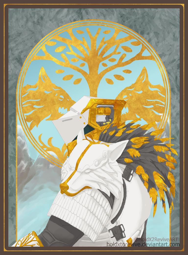 Saladin's White Wolf.