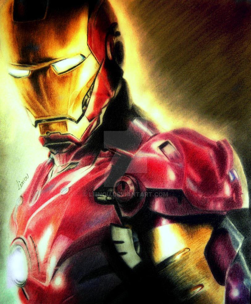 Iron Man by Liiinou