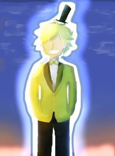 My OC (Parent of Bill Cipher) by Milenarie