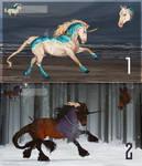 Auction The last unicorn #1 [OPEN] by Fensiya