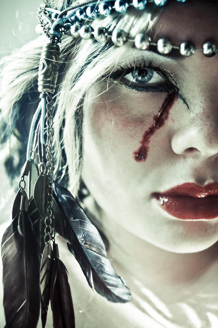 the goddess of sorrow. by CrimsonnOnyxx