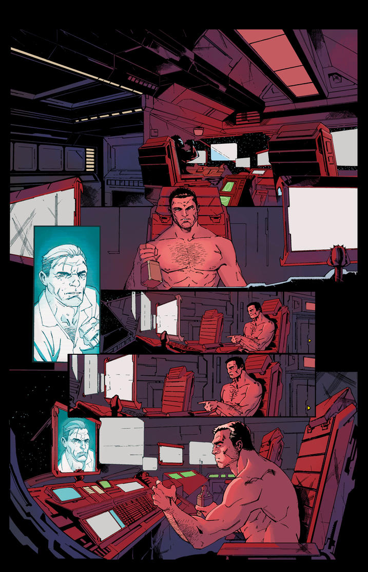 Salvagers page 2 Colour Test by JoshJ81