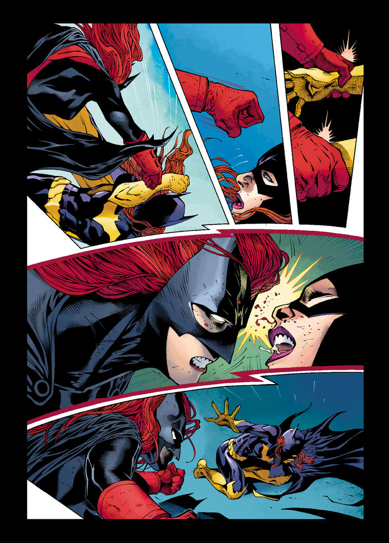 Batgirl vs Batwoman by JoshJ81