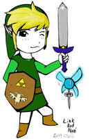 Link And Navi by Akastuki-sensei