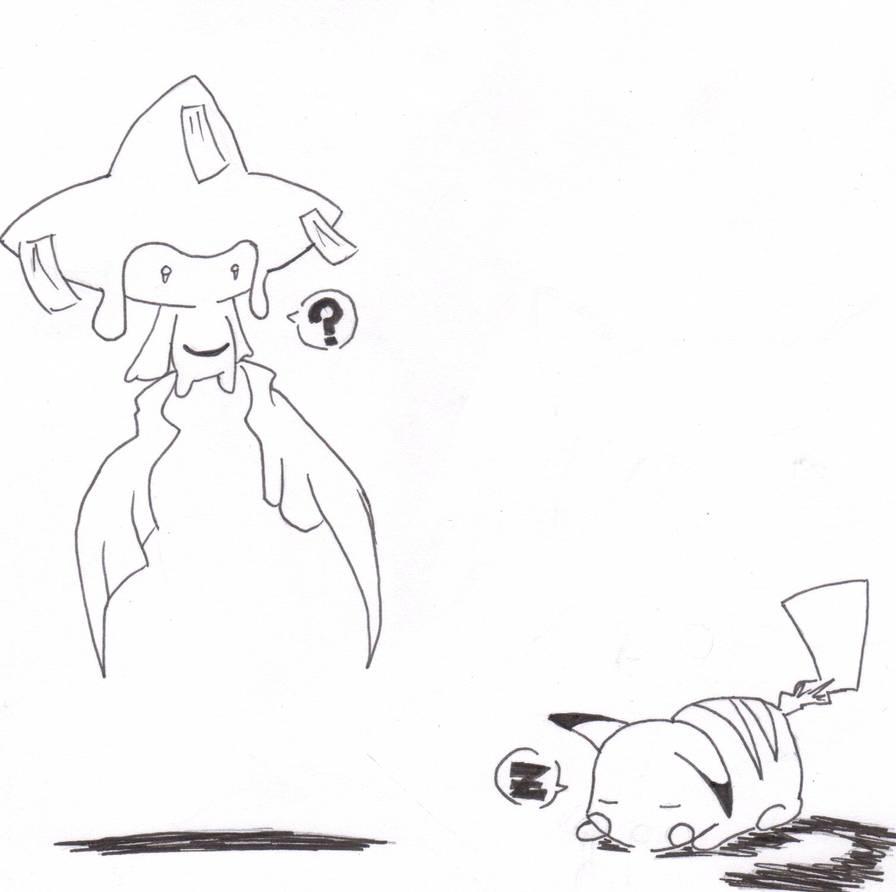 Why You Sleeping Pikachu by Akastuki-sensei