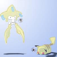 Why You Sleeping Pikachu_COL by Akastuki-sensei