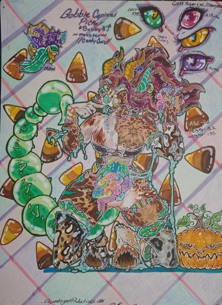 Bobbie Capizzi Picket candy gore, Goretober by DayAndNightProducts