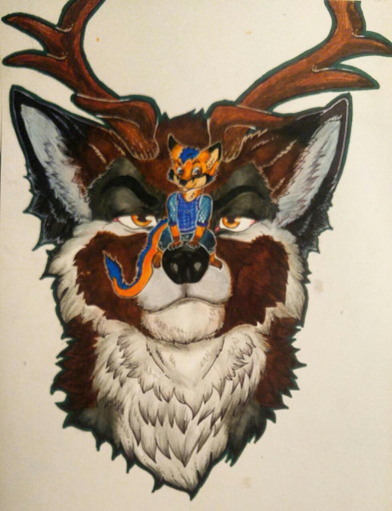 Jax gift art by DayAndNightProducts
