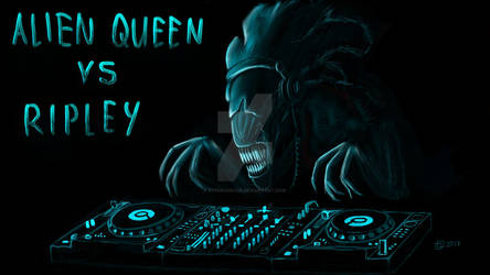 Alien Queen the DJ