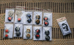 Necklaces and earrings by teezkut