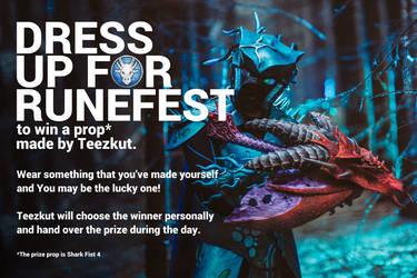 Dress up for Runefest by teezkut