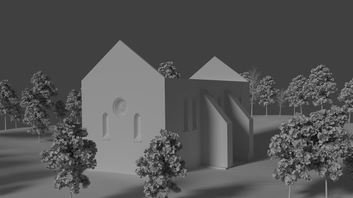 Valjala church by teezkut