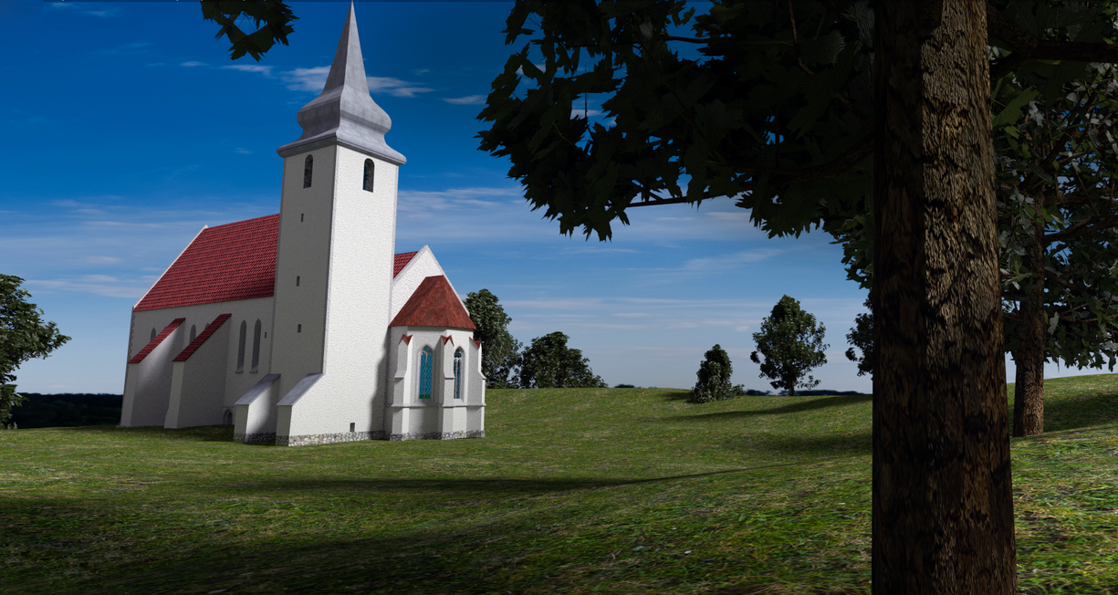 Valjala Saint Martin's church by teezkut