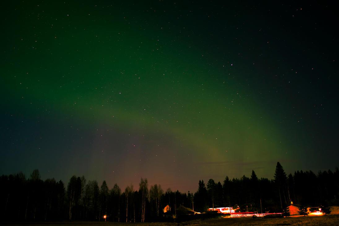 Hunting auroras by teezkut