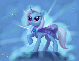 Great Powerful Trixie! :D (Request) by DymasyaSilver
