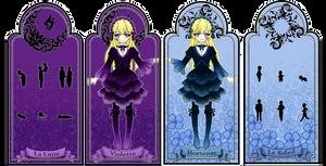 Violette and Hortense bookmark