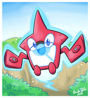 The Rotom Pokedex by Jurassiczalar