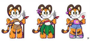Kiki: Alternate Outfits