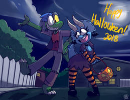 Dinosaur Bones: Halloween 2018