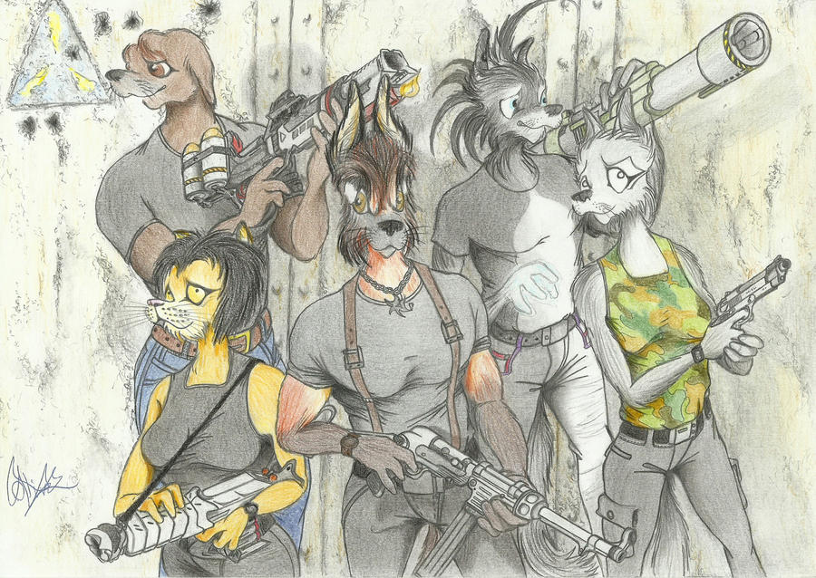 Rise of the Triad by OliveRdragon