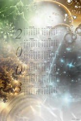 2003 Fractal Calendar by rougeux