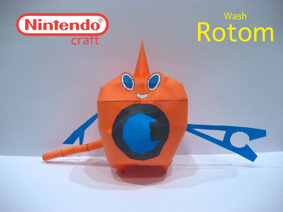 Wash Rotom by poethetortoise