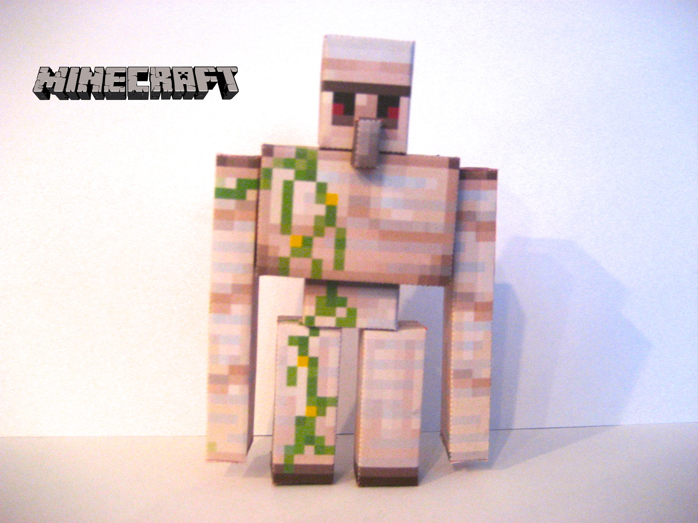 Minecraft Papercraft - Iron Golem by poethetortoise