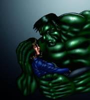 Hulk loves Betty by DaigotheBeast