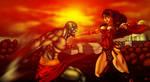 Kratos vs Wonder Woman