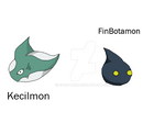 FinBotamon + Kecilmon