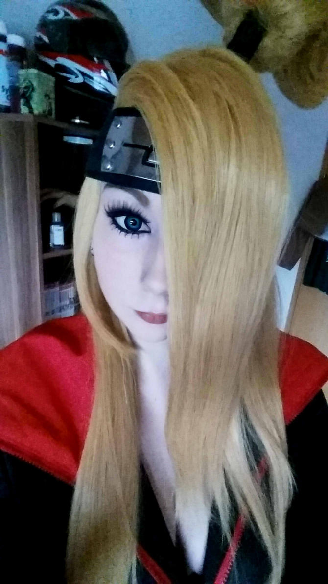 Female deidara 2 by BlackBloodFire