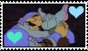 Gummi Bear Adventures-Igthorn X Toadie Stamp by Skowlah