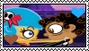 El Tigre - Manny X Frieda Stamp