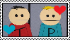 South Park - Terrance X Phillip Stamp by Skowlah