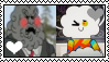 TAWOG - Mr. Yoshido X Mr. Small Stamp by Skowlah