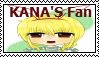 Stamp Request - Kana's fan stamp by Skowlah