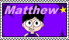 Stamp Request - Matthew Stamp by Skowlah