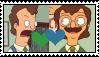 Bob's Burgers - Mr. Ambrose X Mr. Frond Stamp