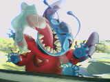 stitch's great escape promo by ViXX313