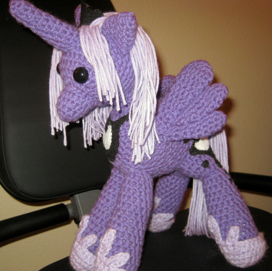 My Little Pony - Princess Luna Plush by kaerfel