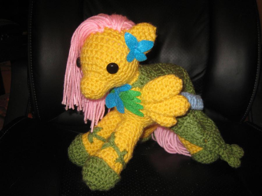 My Little Pony - Fluttershy - Gala Dress by kaerfel